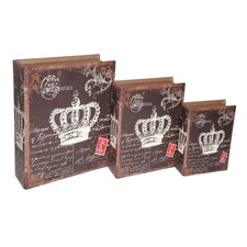 Dark Edition Crown Book Box (Set of 3)