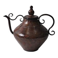 Decorative Teapot Figurine