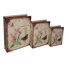 Naturalist Book Box (Set of 3)