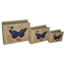 Butterfly Book Box (Set of 3)