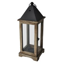 Glass and Metal Lantern