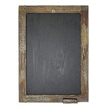 Large Chalkboard with Chalk Holder