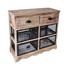 6 Drawer Wire Cabinet