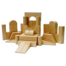 34 Pieces Hollow Block Set