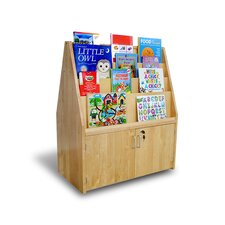 <strong>A+ Child Supply</strong> Double Sided Birch Bookshelf and Cabinet