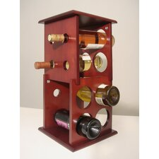 Fuji 8 Bottle Tabletop Wine Rack