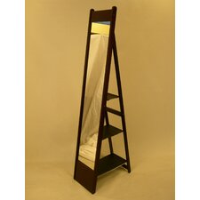 <strong>Proman Products</strong> Aris Classic Mirror Stand in Rich Mahogany