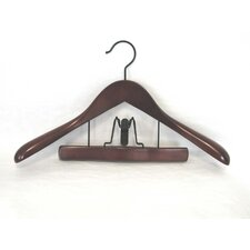 Taurus Suit Hanger with Trouser Clamp (Set of 12)