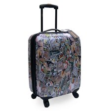 Lucas World Tour Expandable Hardsided Spinner Suitcase