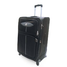 <strong>Oleg Cassini</strong> Lightweight Expandable Spinner Suitcase
