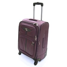 "Lightweight 21"" Expandable Spinner Suitcase"
