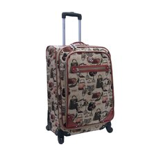 "Hats Off 24"" Expandable Spinner Suitcase"