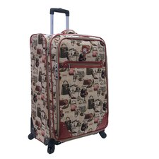 "Hats Off 28"" Expandable Spinner Suitcase"