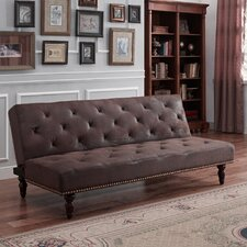 Charleston Vintage Futon and Mattress
