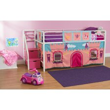 Princess Castle Curtain Set for Junior Loft Bed