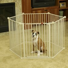 "28"" Convertible Yard Exercise Dog Pen"