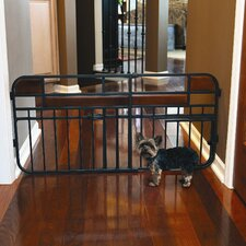 <strong>Carlson Pet Products</strong> Design Studio Expandable Dog Gate
