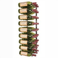 WS3 Platinum Series 27 Bottle Wall Mounted Wine Rack