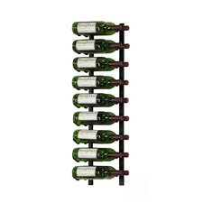 18 Bottle Wall Mounted Wine Rack