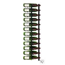 36 Bottle Wall Mounted Wine Rack