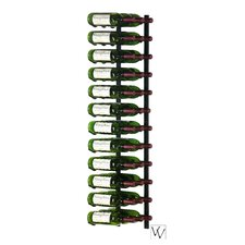 36WS4 Series 36 Bottle Wall Mounted Wine Rack