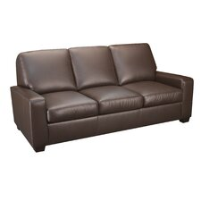 <strong>World Class Furniture</strong> Leather Sofa