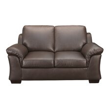 <strong>World Class Furniture</strong> Leather Loveseat