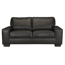 Brevia Leather Loveseat