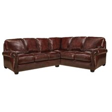 Mackenzie Leather Sectional B