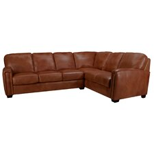 Mathew Leather Sectional B