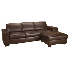 Mission Leather Sectional