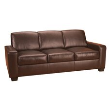 Mabel Leather Sofa