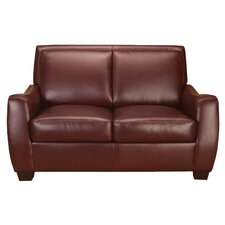 Matheson Leather Loveseat