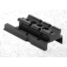 HK USP Compact Pistol Weaver Mount in Black