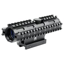 <strong>NcSTAR</strong> 4x32 Compact Scope 3 Rail Sighting System / P4 / Weaver Mount / in Blue