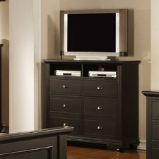 Aden 6 Drawer Media Chest