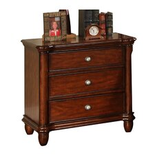 Ethan 3 Drawer Nightstand
