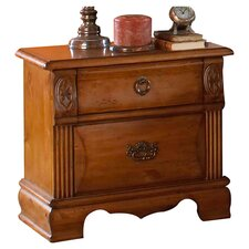 <strong>Greystone</strong> Bella 2 Drawer Nightstand