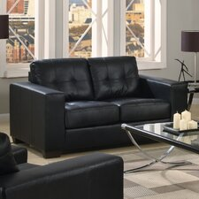 Gemona Bonded Leather 2 Seater Sofa