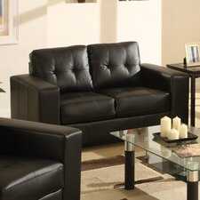 <strong>Furniture Link</strong> Gemona Bonded Leather 2 Seater Sofa