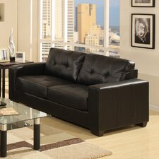 Gemona Faux Leather 3 Seater Sofa