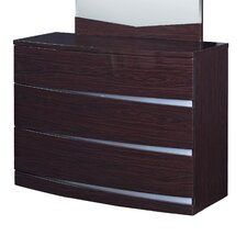 Plaza 3 Drawer Wide Chest