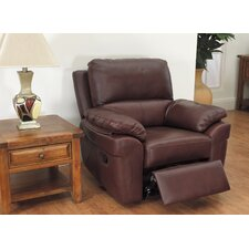Monzano Recliner in Chestnut
