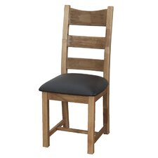 Danube Solid Oak Dining Chair (Set of 2)