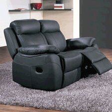 Alessia Leather 2 Seater Reclining Sofa