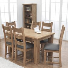 Danube 7 Piece Rectangle Dining Set