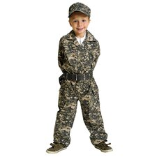 <strong>Aeromax</strong> Jr. Camouflage Suit with Cap and Belt