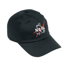 Jr. Astronaut Cap in Black