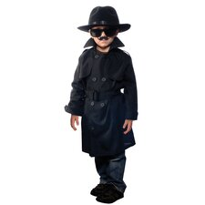 Jr. Secret Agent Costume with Accessories