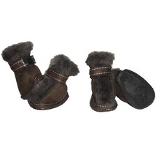 <strong>Pet Life</strong> Ultra Fur Comfort Year Round Protective Dog Boots